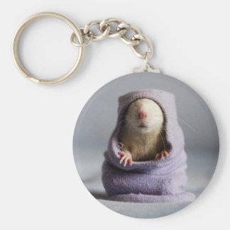 Chaveiro auge bonito do rato uma vaia