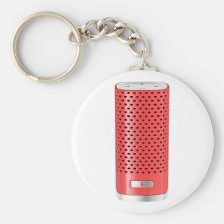 Chaveiro Auto-falante esperto vermelho