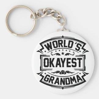 Chaveiro Avó do Okayest do mundo