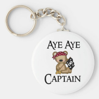 Chaveiro Aye Aye corrente chave do pirata do urso do capitã