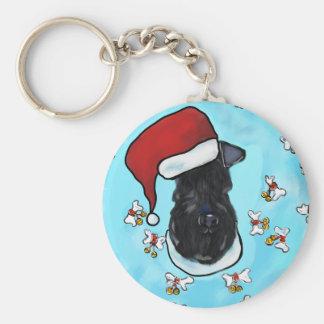 Chaveiro Azul de Kerry Terrier