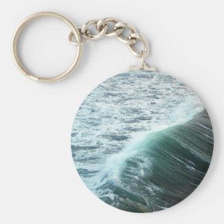 Chaveiro Azul de Oceano Pacífico