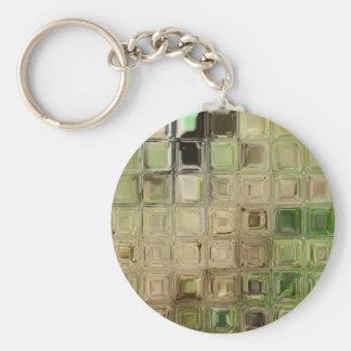 Chaveiro Azulejos do vidro verde