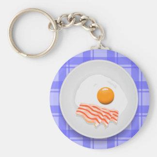Chaveiro bacon do ovo