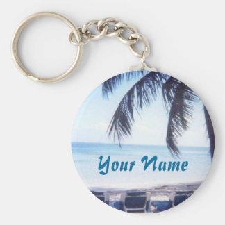 Chaveiro Bahamas personalizaram a corrente chave