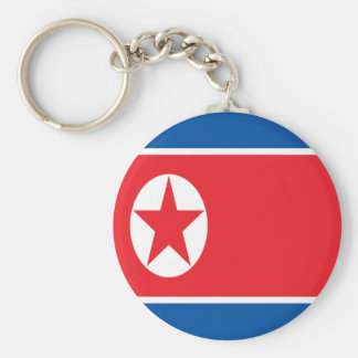 Chaveiro Baixo custo! Bandeira da Coreia do Norte