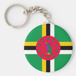 Chaveiro Baixo custo! Bandeira de Dominica