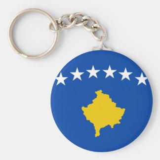 Chaveiro Baixo custo! Bandeira de Kosovo