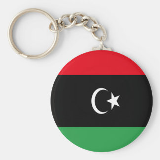 Chaveiro Baixo custo! Bandeira de Líbia
