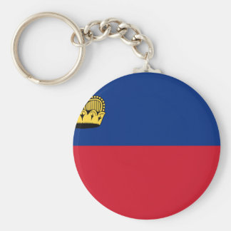 Chaveiro Baixo custo! Bandeira de Liechtenstein