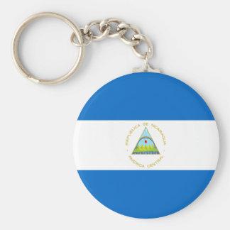 Chaveiro Baixo custo! Bandeira de Nicarágua