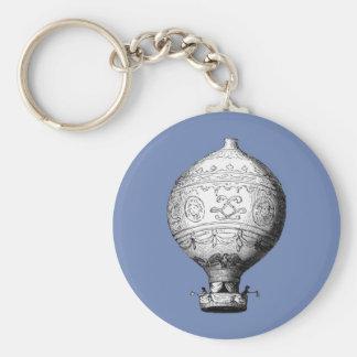 Chaveiro Balão de ar quente do vintage de Montgolfier