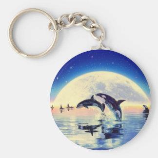 Chaveiro Baleias da orca