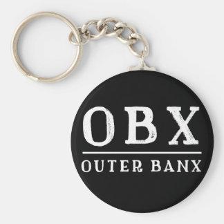 Chaveiro BANCOS EXTERIORES exteriores North Carolina de OBX