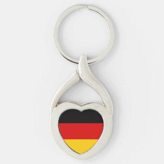 Chaveiro Bandeira alemão patriótica
