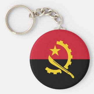 Chaveiro Bandeira angolana patriótica