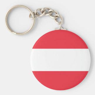 Chaveiro Bandeira austríaca patriótica