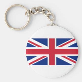 """Chaveiro Bandeira BRITÂNICA """"Union Jack """" de Reino Unido da"""