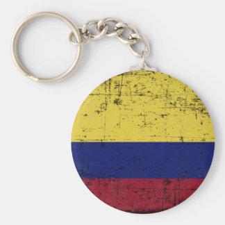 Chaveiro Bandeira da Colombia