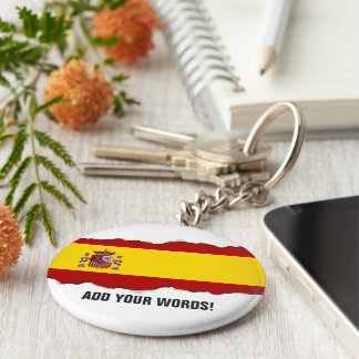 Chaveiro Bandeira da espanha