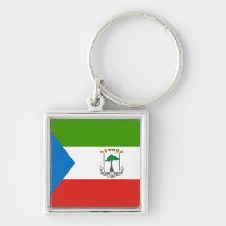 Chaveiro Bandeira da Guiné Equatorial