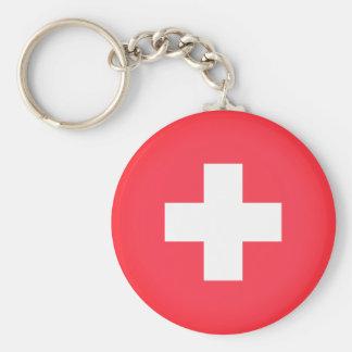 Chaveiro Bandeira da suiça