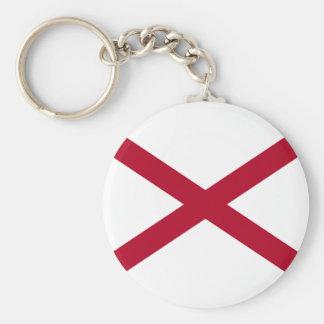 Chaveiro Bandeira de Alabama