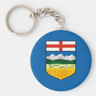 Chaveiro Bandeira de Alberta