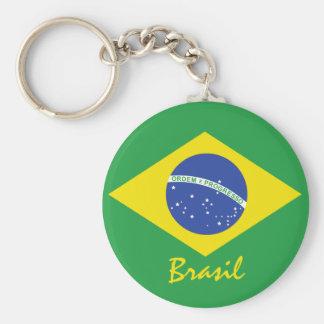 Chaveiro Bandeira de Brasil
