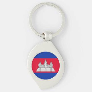 Chaveiro Bandeira de Cambodia