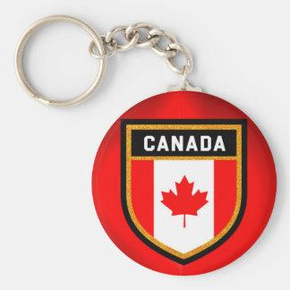 Chaveiro Bandeira de Canadá