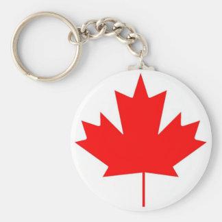 Chaveiro Bandeira de Canadá, dia feliz de Canadá