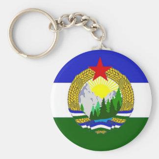 Chaveiro Bandeira de Cascadia socialista