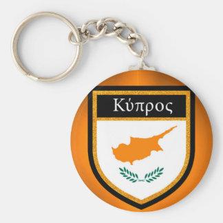 Chaveiro Bandeira de Chipre