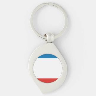 Chaveiro Bandeira de Crimeia