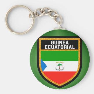Chaveiro Bandeira de Ecuatorial da Guiné