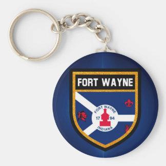 Chaveiro Bandeira de Fort Wayne