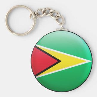 Chaveiro Bandeira de Guyana