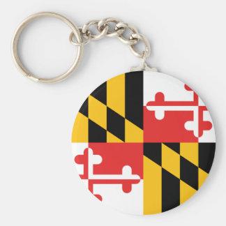 Chaveiro Bandeira de Maryland