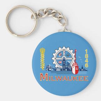 Chaveiro Bandeira de Milwaukee, Wisconsin