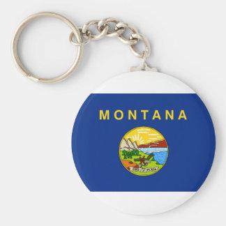 Chaveiro Bandeira de Montana