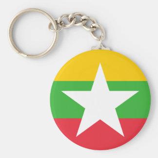 Chaveiro Bandeira de Myanmar