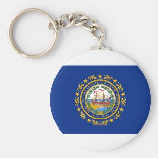 Chaveiro Bandeira de New Hampshire