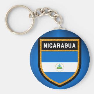 Chaveiro Bandeira de Nicarágua