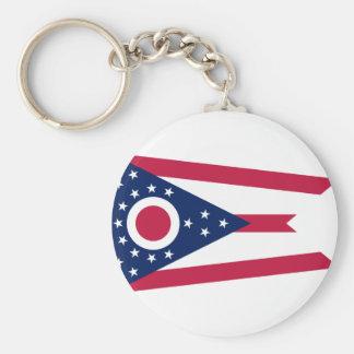 Chaveiro Bandeira de Ohio