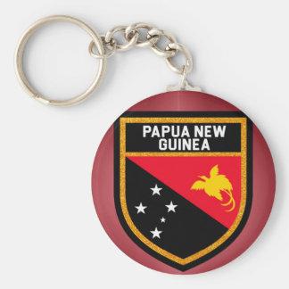 Chaveiro Bandeira de Papuá-Nova Guiné