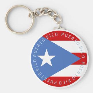Chaveiro Bandeira de Puerto Rico