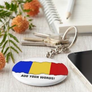 Chaveiro Bandeira de Romania