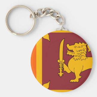Chaveiro Bandeira de Sri Lanka
