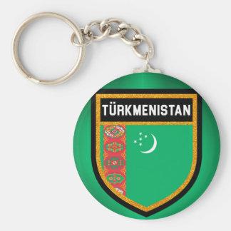 Chaveiro Bandeira de Turkmenistan